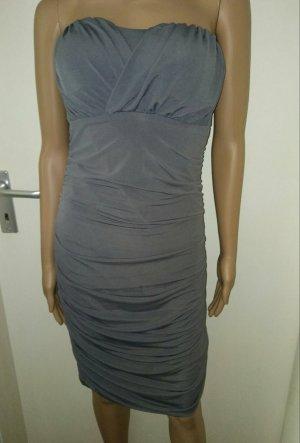 Vila Pencil Dress grey-dark grey