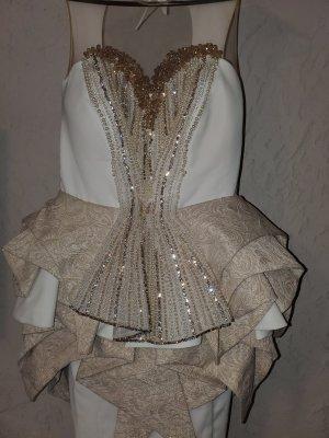 Canadian Wedding Dress oatmeal