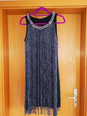 Anna Field Robe de soirée noir-argenté