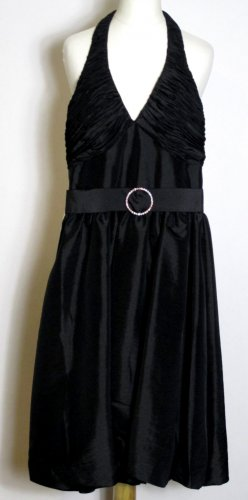 Party Kleid Größe 32 Abendkleid Schwarz