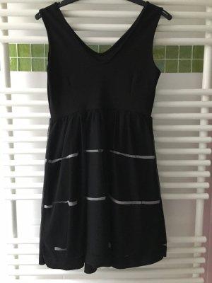 Vestido de baile negro-blanco