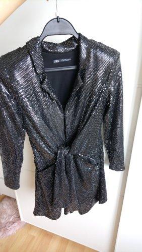 Party Pailletten Jumpsuit von Zara Größe 34