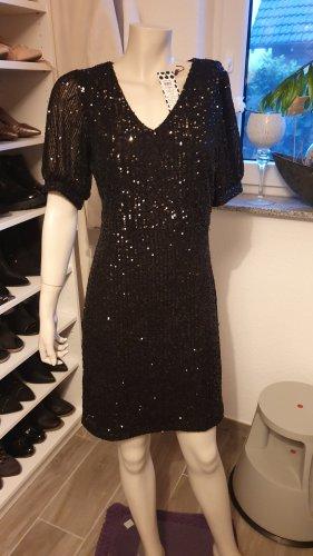 Party Pailletten Kleid von Pieces Gr. M