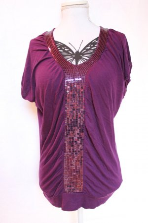 Party Shirt lila Gr.S