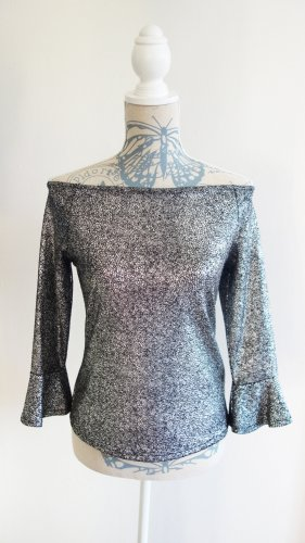 Party Top Silber NEU