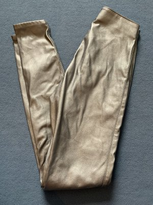 H&M Stretch Trousers silver-colored