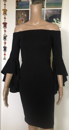 Bodyflirt Off the shoulder jurk zwart