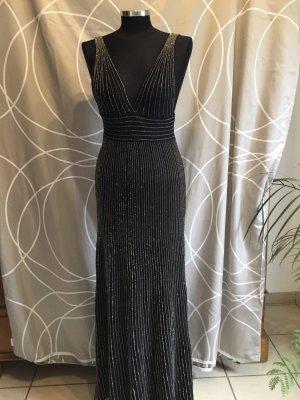 Partykleid, lang, sexy Ausschnitt vorne und hinten, Gr 38, eng, neu