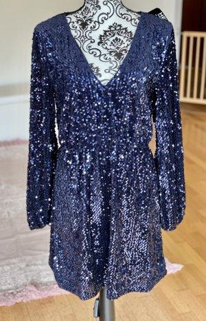 Nelly Vestido de cóctel azul-azul oscuro