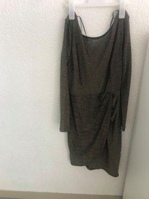 Robe mi-longue noir
