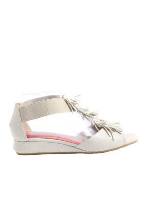 Pas de rouge Sandalo comodo bianco sporco stile casual
