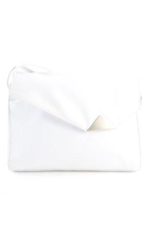 Pochette bianco stile casual
