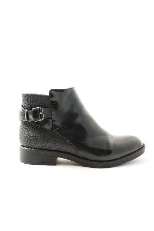 Pascottini Gumowe buty czarny W stylu casual