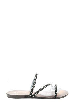 Pascottini Comfortabele sandalen zwart casual uitstraling