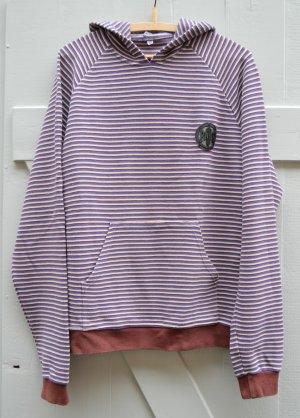 Pash 90er Jahre Vintage Pullover + Kapuze Sweatshirt Hoodie Kapuzenpullover Gr. M / L