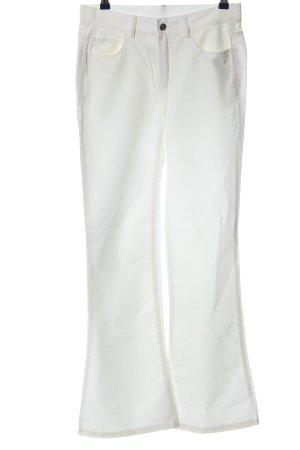 Pash Vijfzaksbroek wit casual uitstraling