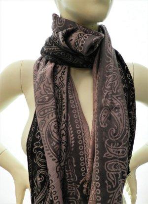 Pashima Schal, Schaltuch, Tuch mit buntem orientalischem Muster, neu