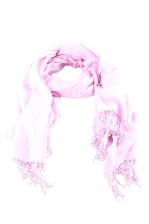 Pashmina Fransenschal pink Casual-Look