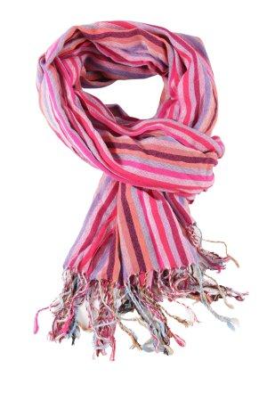 Pashmina Neckerchief striped pattern casual look