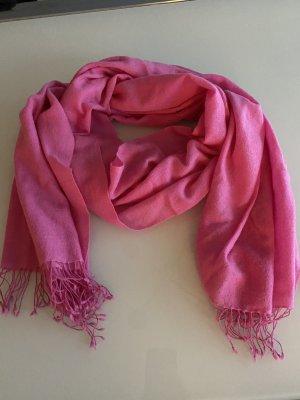 Pashmina Bufanda de cachemir rosa