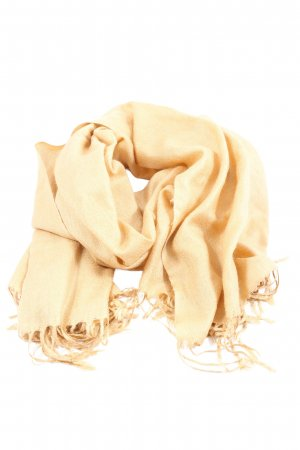 Pashmina Cashmere Scarf natural white casual look