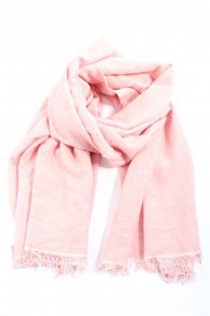 Pashmina Bufanda de cachemir rosa look casual