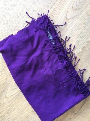 Pashmina violet foncé