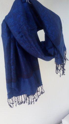 Vintage Pashmina blue-dark blue