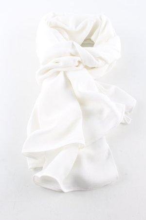 Pashmina Tube Scarf white casual look