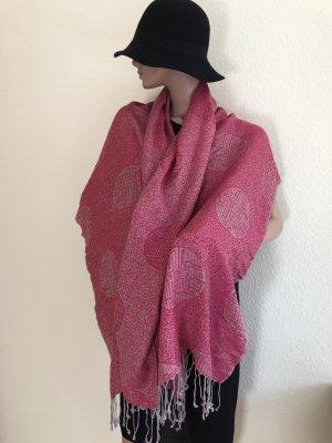 Pashmina Cashmere Scarf pink cashmere