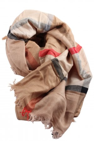 Pashmina Traditional Scarf check pattern casual look