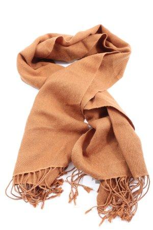 Pashmina Silk Scarf brown casual look