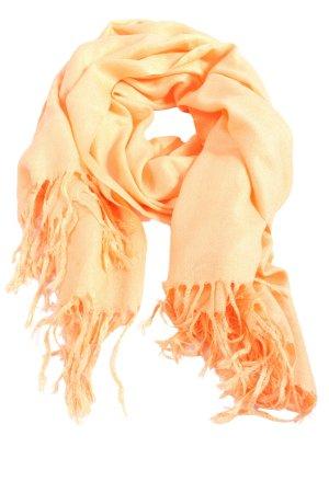 Pashmina Woolen Scarf light orange casual look