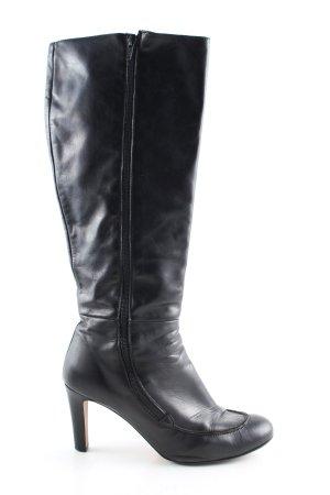 Passarella Absatz Stiefel schwarz Casual-Look