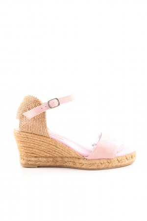 Passarella Wedges Sandaletten pink-wollweiß Casual-Look