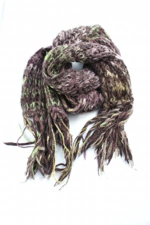 Passigatti Fringed Scarf flecked casual look