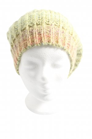 Passigatti Crochet Cap green-light orange color gradient casual look