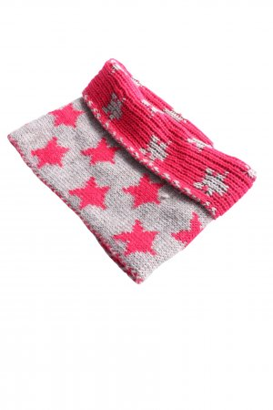 Passigatti Snood light grey-pink allover print casual look
