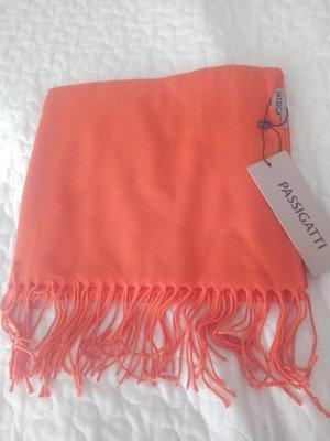Passigatti Écharpe à franges orange