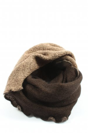 Passigatti Tube Scarf brown casual look