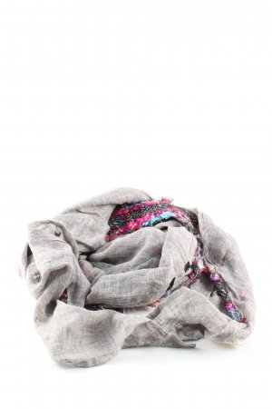Passigatti Châle au tricot moucheté style décontracté