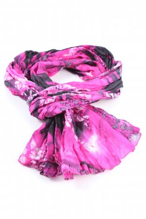 Passigatti Silk Scarf abstract pattern casual look