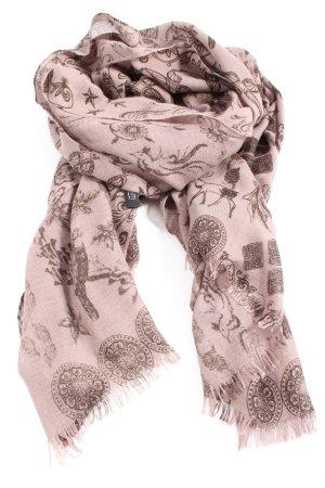 Passigatti Chal veraniego rosa-gris claro elegante