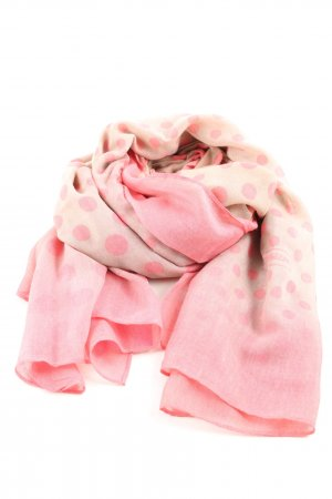 Passigatti Chal veraniego rosa-crema degradado de color look casual