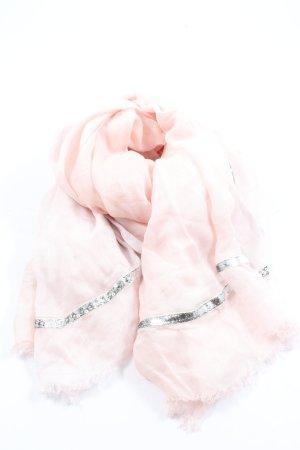 Passigatti Sommerschal pink-silberfarben Casual-Look