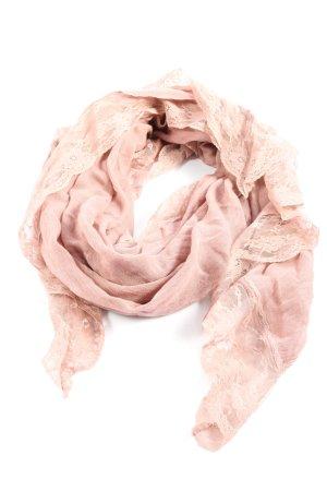 Passigatti Chal veraniego rosa-blanco puro look casual