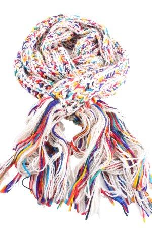 Passigatti Gebreide sjaal veelkleurig casual uitstraling