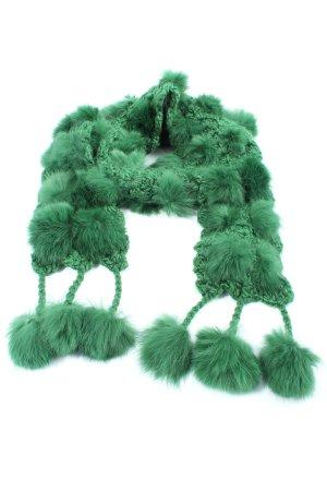 Passigatti Bufanda de punto verde elegante