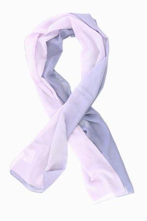 Passigatti Écharpe d'été violet-mauve-violet-violet foncé polyester