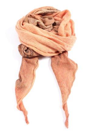 Passigatti Sciarpa di lana arancione chiaro stile casual